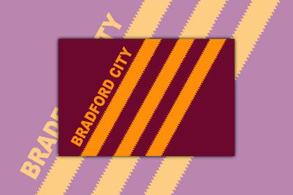 Bradford City Stripes