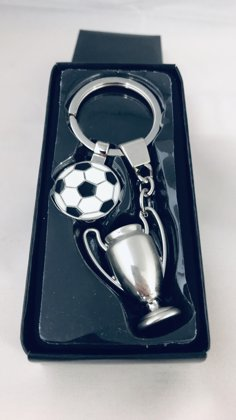Champions League Cup & Ball Keyring