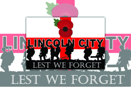 Lincoln City Lest we Forget
