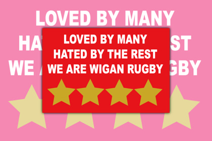 Wigan Warriors Loved By Many