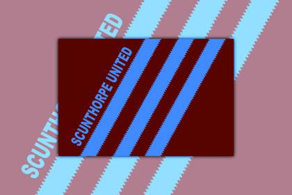 Scunthorpe United Stripes