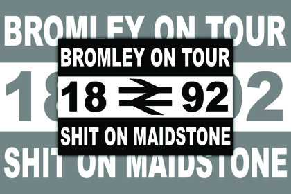 Bromley FC Sh*t On Maidstone