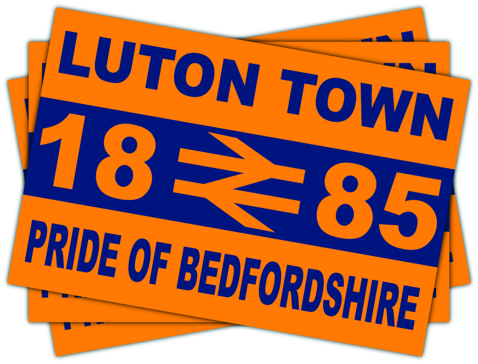 Luton Town Pride Of Bedfordshire