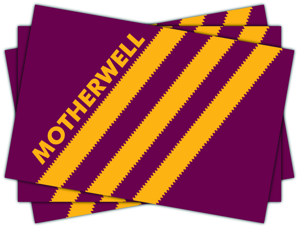 Motherwell FC Stripes