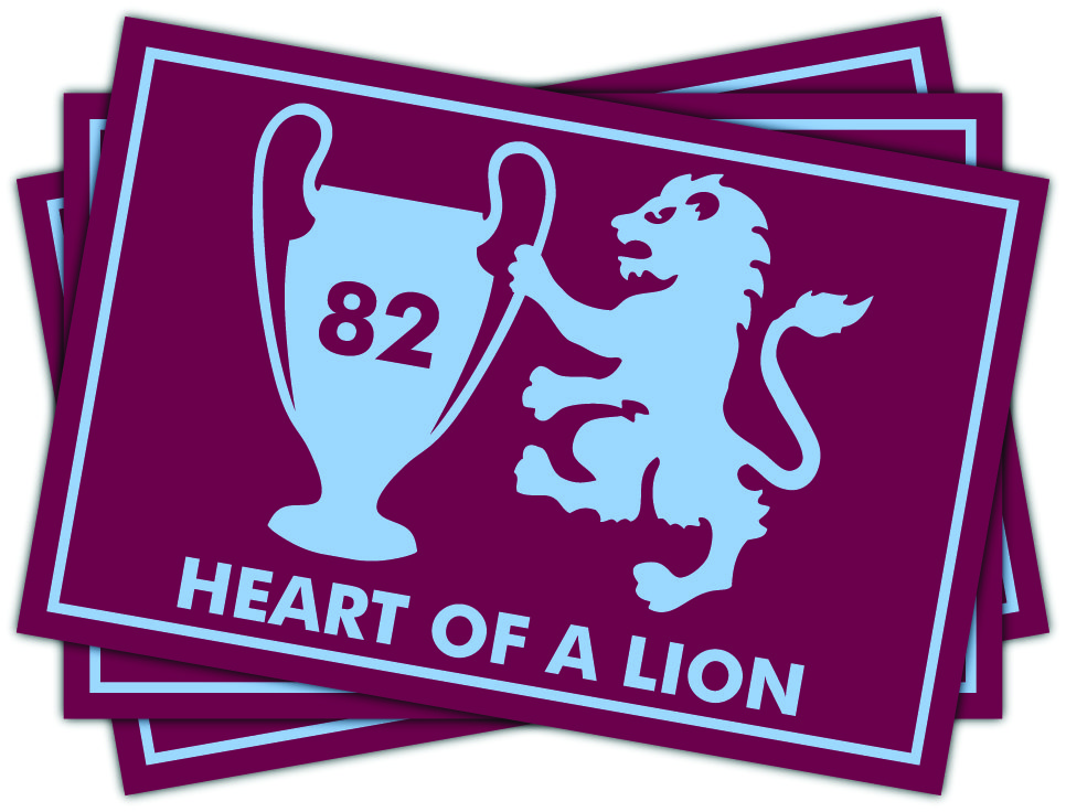 Aston Villa Heart Of A Lion