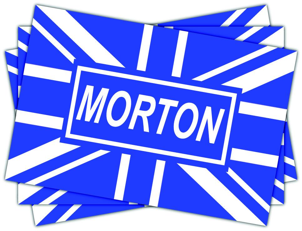 Greenock Morton Blue Union Jack