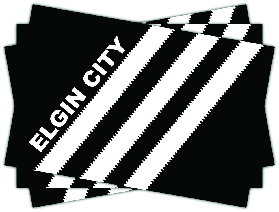 Elgin City stripes