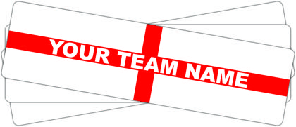 Personalised Premiership Window Stickers