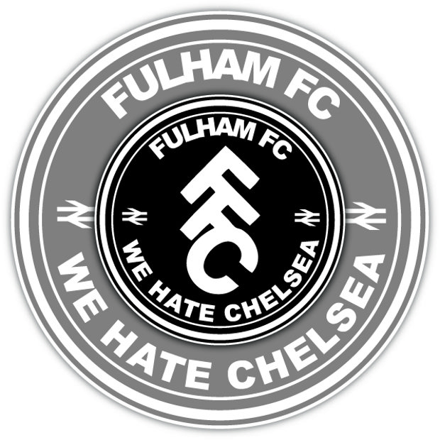 Fulham FC We hate Chelsea