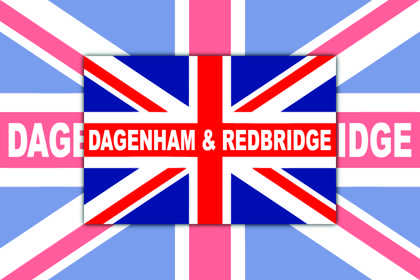 Dagenham & Redbridge Union Jack