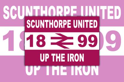Scunthorpe United Up The Iron