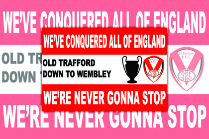 ST Helens We've Conquered All Of England