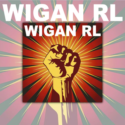 Wigan Warriors Fist