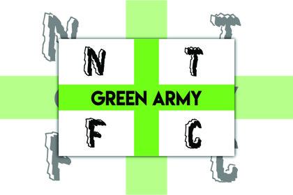 Nantwich Town Green Army